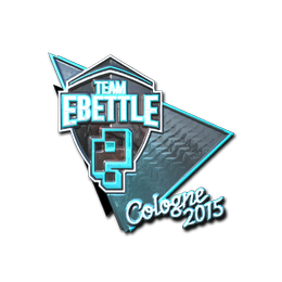 Team eBettle (Foil) | Cologne 2015