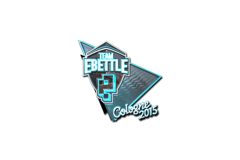 Sticker | Team eBettle (Foil) | Cologne 2015 Prices