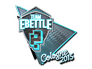 Skin Sticker | Team eBettle (Foil) | Cologne 2015