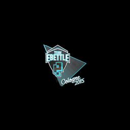 free csgo skin Sticker | Team eBettle | Cologne 2015