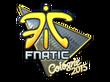 Sticker Fnatic (Foil)   Cologne 2015