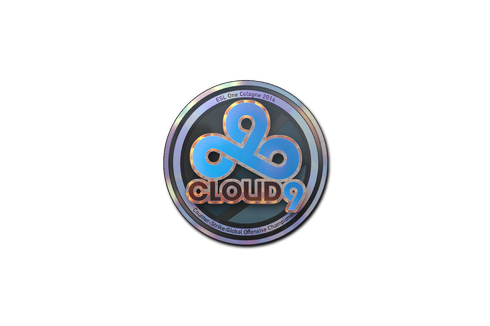 Sticker | Cloud9 (Holo) | Cologne 2014 Prices