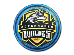 Sticker | Copenhagen Wolves | Cologne 2014