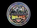 Sticker | Copenhagen Wolves (Holo) | Cologne 2014