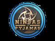 Sticker Ninjas in Pyjamas | Cologne 2014