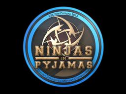 Sticker   Ninjas in Pyjamas   Cologne 2014