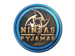 Sticker | Ninjas in Pyjamas | Cologne 2014