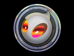 Sticker | Team Dignitas (Holo) | Cologne 2014