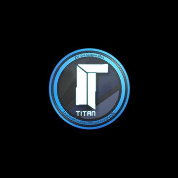 Sticker | Titan | Cologne 2014
