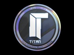 Sticker | Titan (Holo) | Cologne 2014