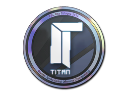Sticker | Titan (Holo) | Cologne 2014
