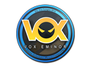Sticker | Vox Eminor | Cologne 2014