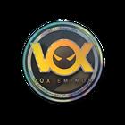 Sticker | Vox Eminor (Holo) | Cologne 2014