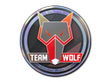 Sticker MTS GameGod Wolf (Holo) | Cologne 2014