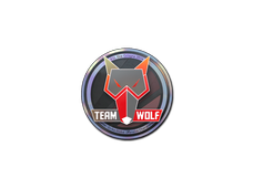 Skin Sticker | MTS GameGod Wolf (Holo) | Cologne 2014