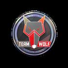 Sticker | MTS GameGod Wolf (Holo) | Cologne 2014