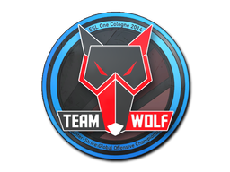 Sticker | MTS GameGod Wolf | Cologne 2014