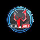 Sticker | MTS GameGod Wolf | Cologne 2014