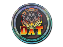 Sticker | dAT team (Holo) | Cologne 2014