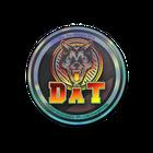 Sticker   dAT team (Holo)   Cologne 2014