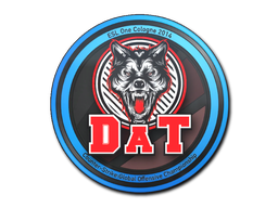 Sticker | dAT team | Cologne 2014