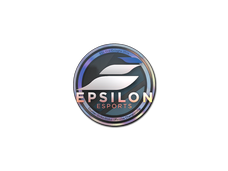 Skin Sticker | Epsilon eSports (Holo) | Cologne 2014