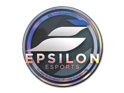 Sticker | Epsilon eSports (Holo) | Cologne 2014