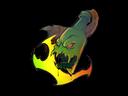 Sticker   Devouring Flame (Holo)