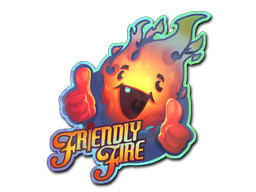 Sticker | Friendly Fire (Holo)