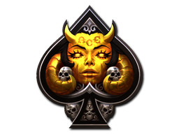 Sticker | Ace Devil (Foil)