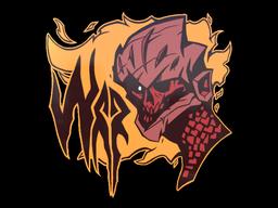 Sticker | War