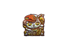 Skin Sticker | Lucky Cat (Foil)