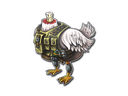 Sticker | Headless Chicken