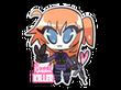 Sticker Kawaii Killer CT