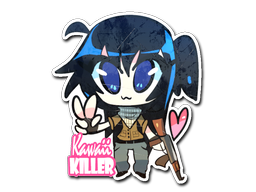 Sticker | Kawaii Killer Terrorist