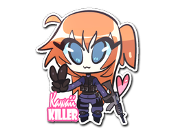 Sticker | Kawaii Killer CT