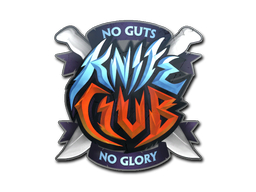 Sticker | Knife Club