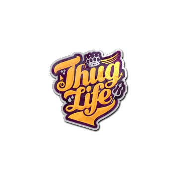 Steam community market listings for sticker thug life