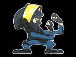 Sticker | Wanna Fight