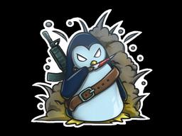 Sticker | War Penguin