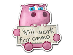 Sticker | Work For Ammo