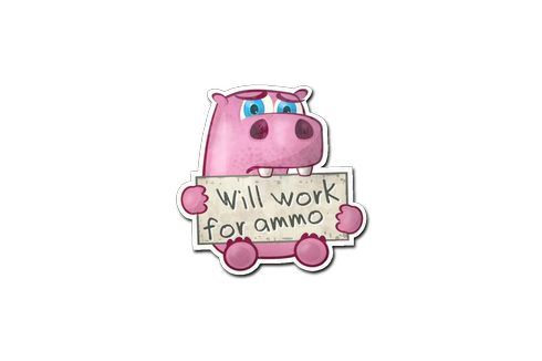 Buy Sticker | Work For Ammo