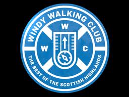 SteamAnalyst com - Sticker | Windy Walking Club - Counter
