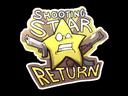 Sticker   Shooting Star Return