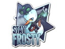 Sticker | Stay Frosty