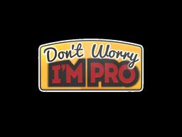 Don't Worry, I'm Pro