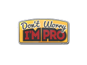 Sticker | Don't Worry, I'm Pro