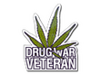 Sticker Drug War Veteran