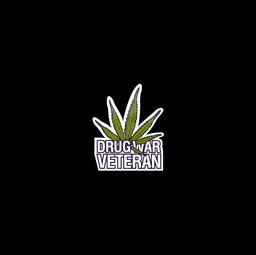 Sticker   Drug War Veteran