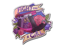 Sticker | Fight like a Girl